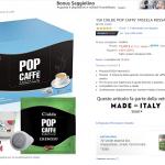 150 CIALDE POP CAFFE' MISCELA ROSSA CREMOSA (CIALDE ESE 44) in offerta