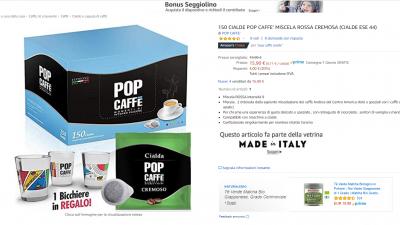 CIALDE POP CAFFE' MISCELA ROSSA CREMOSA